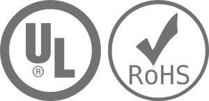 UL Listed - RoHS Compliant
