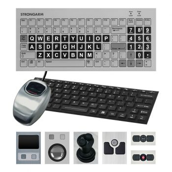 Strongarm Industrial Keyboard and Pointer Options