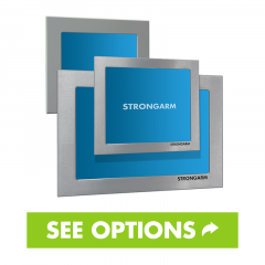 Strongarm Industrial Panel Mount Display Options