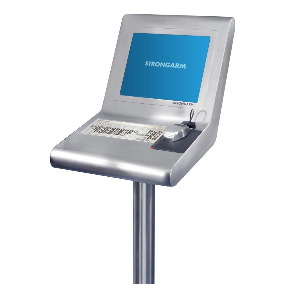 Strongarm Mini Console Pedestal Station Operator Interface Terminal